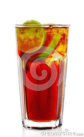 Free Long Island Iced Tea Cocktail Royalty Free Stock Photo - 8599965