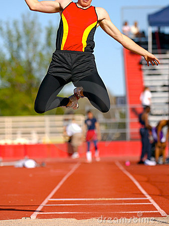 Free Long-jump Royalty Free Stock Photography - 2562607