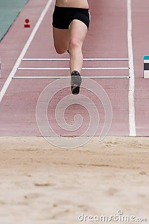 Free Long Jump Royalty Free Stock Photo - 3049815