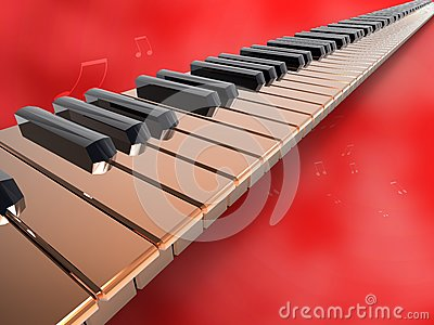 Long keyboard piano on red background.jpg