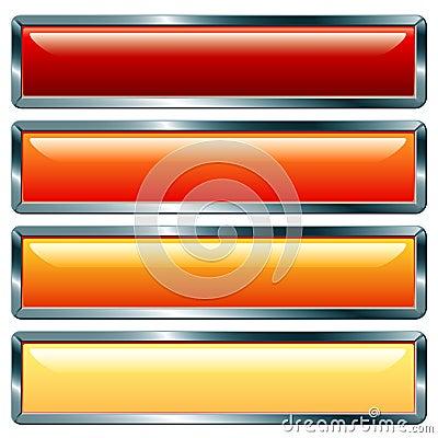 Long metallic hot