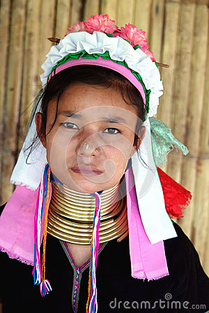 Free Long Neck Tribe In Thailand Royalty Free Stock Images - 80379329