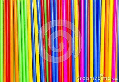 Long plastic tube