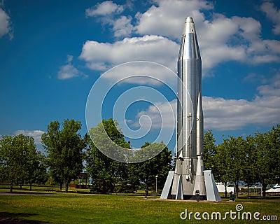 Long Range Atlas Rocket