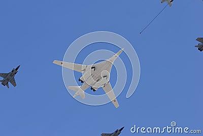 Long-range strategic bomber