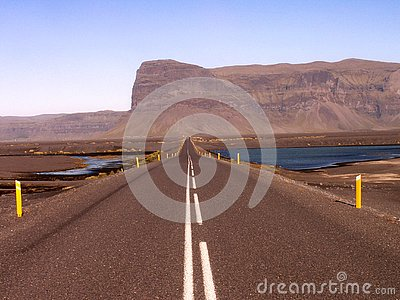 Long road to Iceland
