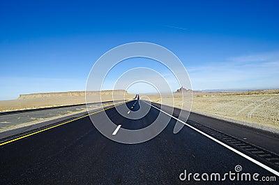 Long road Utah