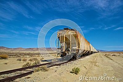 Long Rusting Train