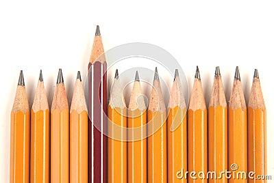 Long and short pencils