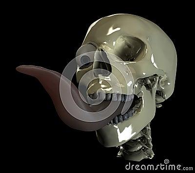 Long skull tongue