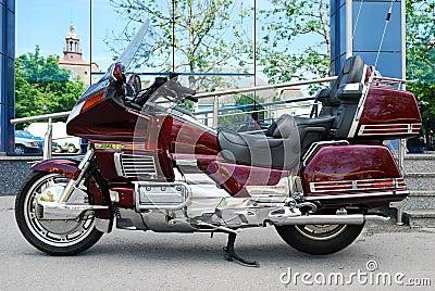 Long travel motorbike