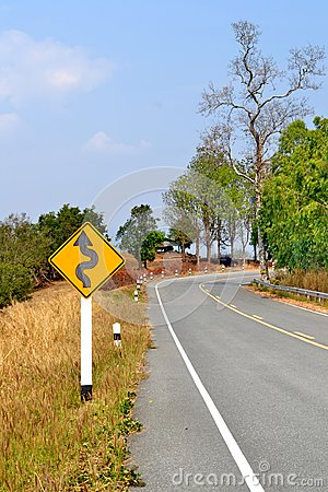 Long Winding Dirt Road Stock Photo - Image: 50509588