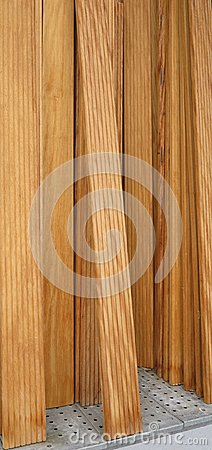 Long wood planks