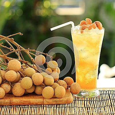 Free Longan Juice Cold Water Stock Photo - 36325670