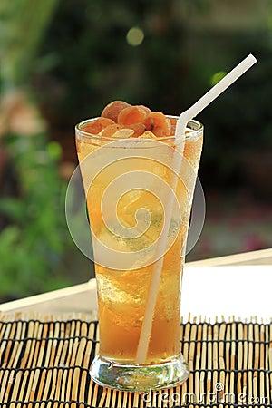 Free Longan Juice Cold Water Stock Photos - 36325683