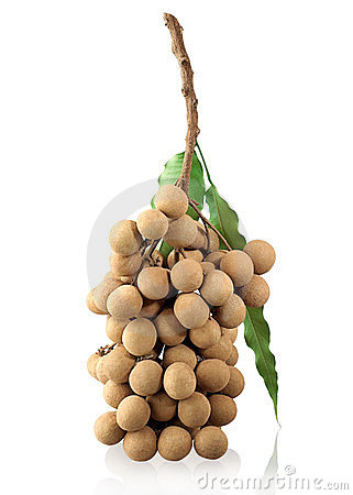 Longan Thai tropical fruit