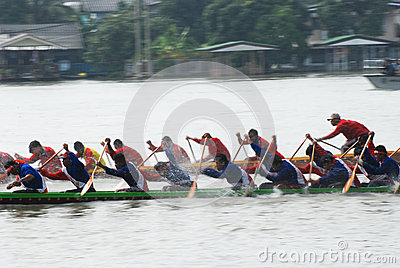 Longboat racing Editorial Photography