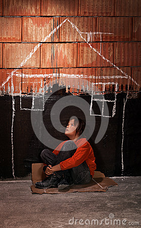 Free Longing For A Shelter Stock Photography - 45154642