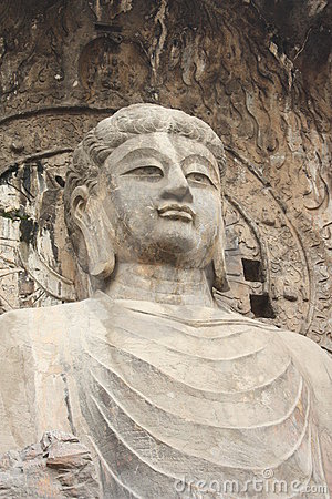 Free Longmen Caves In Luoyang. Statue Of Buddha. Royalty Free Stock Images - 16477409