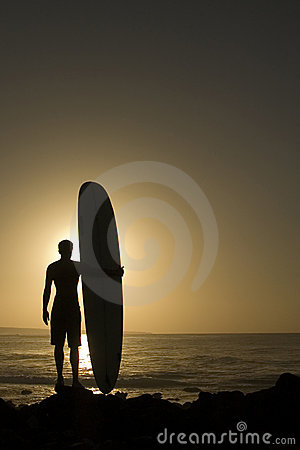 Longoard au coucher du soleil 3