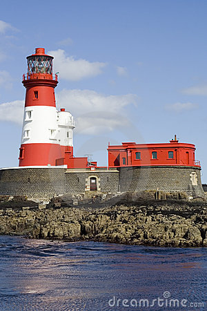 Longstone Lighthouse, Farne Islands, England, UK.
