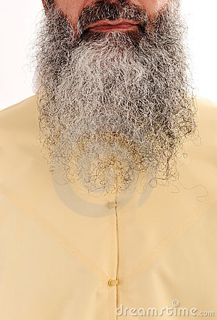 Longue barbe, cheveu facial