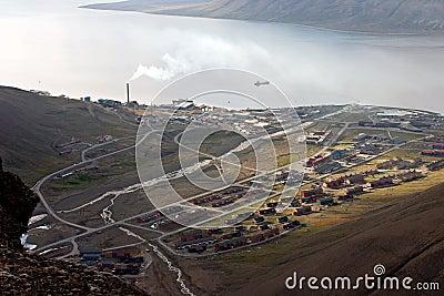 Longyearbyen - the largest settlement on Svalbard