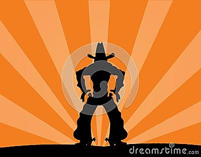 Lonley cowboy
