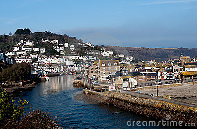 Looe, Cornwall - scenic west of England