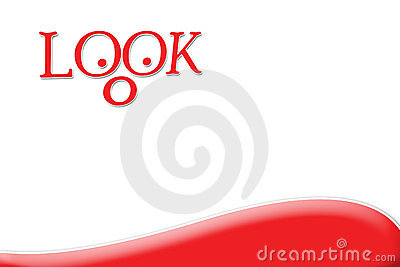 Look Looking For Something Interesting - Red
