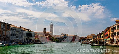 A look at Murano Editorial Stock Photo
