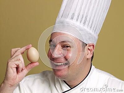 Look my fresh egg.