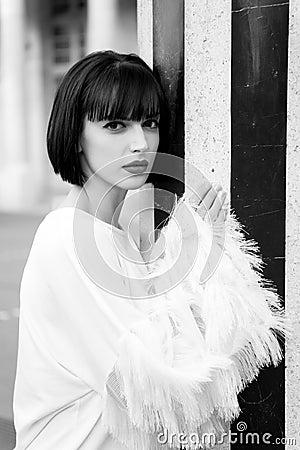 Free Look, Visage, Make Up In Paris, France Stock Photo - 118092070