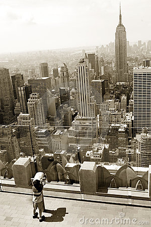 Free Looking At Manhattan Royalty Free Stock Images - 5153209