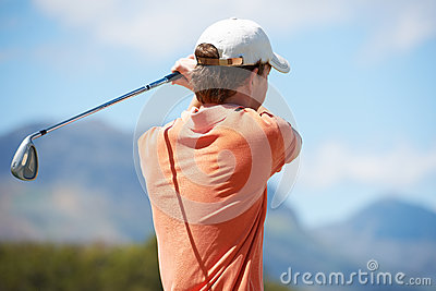Looking away and hoping for a birdie