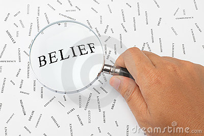 Looking For Belief. Royalty Free Stock Images - Image: 16841789