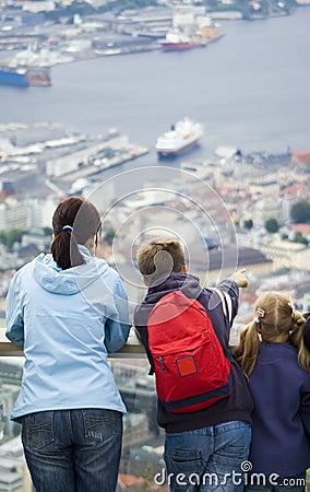 Looking at Bergen.