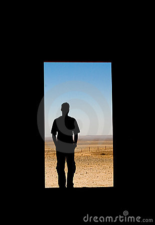Looking Into the Desert