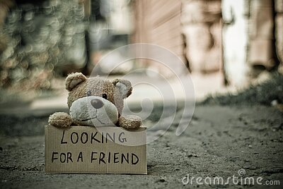 Looking For A Friend Bear Free Public Domain Cc0 Image