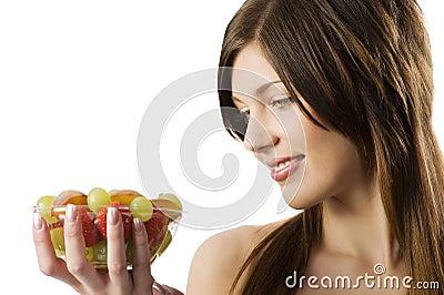 Looking fruit