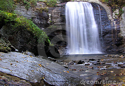Looking Glass Falls, Pisgah National Forest, Western North Carolina