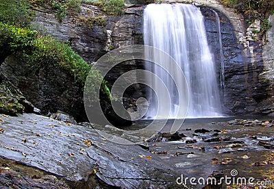 Looking Glass Falls, Pisgah National Forest, Western North Carolina