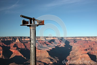 Looking at the Grand Canyon