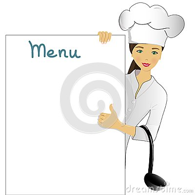 Looking my menu.