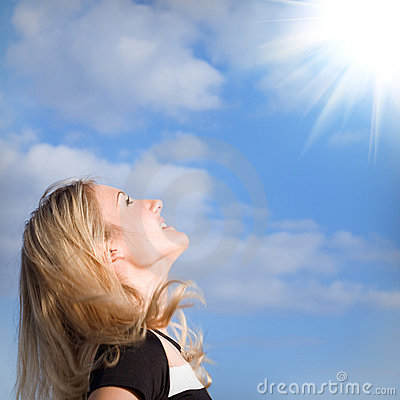 Free Looking To Sun Stock Photography - 11317942