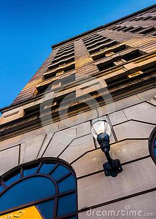 Free Looking Up At The Hotel DuPont In Downtown Wilmington, Delaware. Stock Photography - 47801912