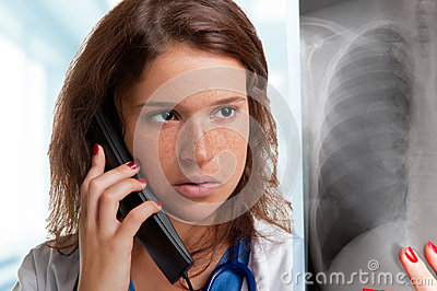 Looking at an X-Ray