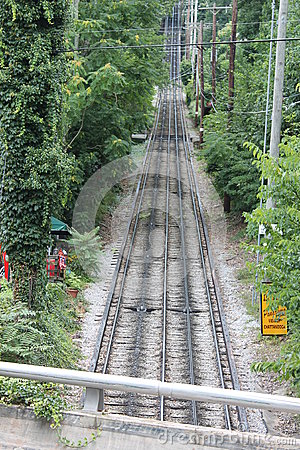 Free Lookout Mountain Incline Railway, Chattanooga, TN Royalty Free Stock Image - 54991216