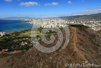 Lookout over Honolulu
