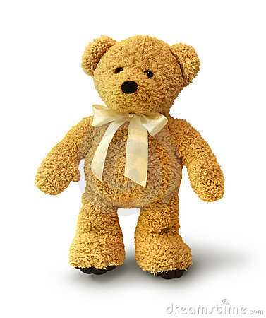 Lopende teddybeer